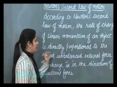 Class 9-Physics Online Video Lectures-Force and Laws of Motion