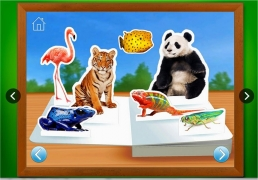 Zoo Animals - Touch, Look, Listen - First Words Animal Learning App for Kids