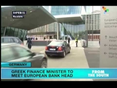 Greek Finance Minister to meet European Bank head