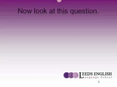 Leeds English - IELTS Writing Lesson 1