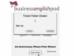 Learn English   iPhone Winner Business English Pod 3rd Anniversary YouTube