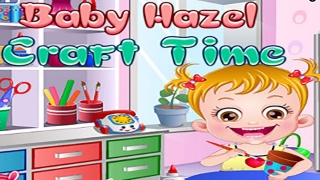 Baby Hazel Game - Baby Learn Painting & Craft Make & Shopping - Dora the Explorer