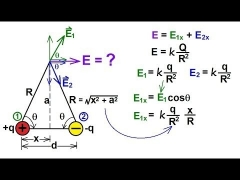 Physics - E&M: Electric Field (5 of 13) The Electric Dipole