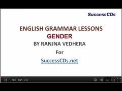 English Grammar lesson - GENDER