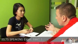 CIP's IELTS Speaking simulation exam conducted by natives