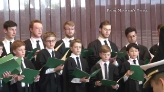 Choir of St John's College, Cambridge, at Parliament House