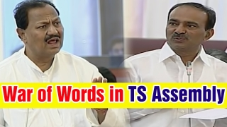 War of words b/w Former MLA D Srinivas and Finance Minister Etela Rajender  | CVR English News