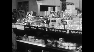 Buying Food - 1950 Shopping Guidance / Educational Documentary - Val73TV