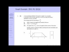 Leaving Cert. Applied Mathematics: Lecture 1