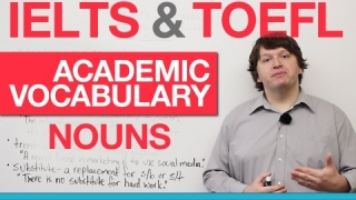 IELTS & TOEFL Academic Vocabulary - Nouns (AWL)