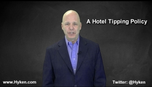 Customer Service Speaker Discusses Hotel Tipping Policies