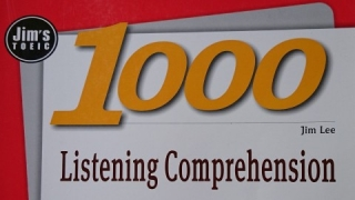 (PART 4 - Test 1) Jim's TOEIC 1000 Listening Comprehension with ANSWER