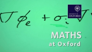 Mathematics at Oxford University