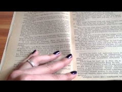 |ASMR english| - Book reading PART 1