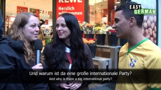Easy German 50 - World Cup Shopping: Crazy guy predicts 7:1 for Germany