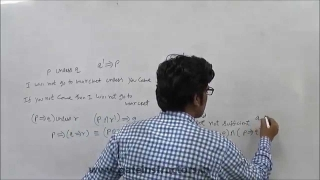 GATE LECTURE : Discrete Mathematics : Conditional and Biconditional Connectives