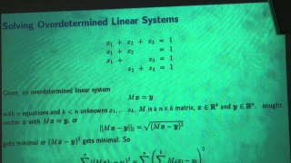 Advanced Mathematics for Engineers Lecture No. 17