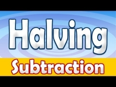 Subtraction Halving Numbers Math Song