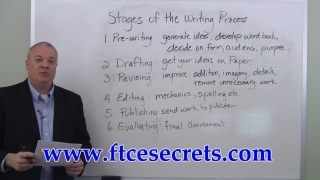 FTCE English - Stages of the Writing Process