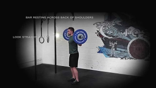 CrossFit Cambridgeshire - How To Back Squat