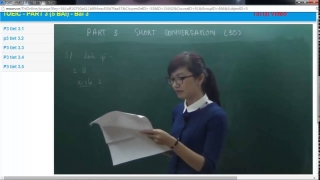 Luyen thi toeic co Mai Phuong Part3 Full Short Conversation Bai 3