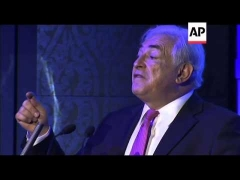 Former IMF boss Strauss-Kahn in Beijing, comments on Eurozone