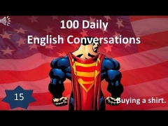 Daily English Conversations 15: Buying a shirt.