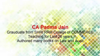Indian Contract Act Business Law Vocabulary for CMA CS CA Online Recorded Satellite Video Classes