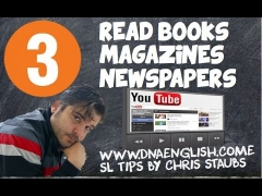 LEARN ENGLISH FAST TOEFL, CAMBRIDGE, IELTS TIPS #3 : READ BOOKS AND MAGAZINES!