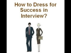 online interview skills tutorials - how to dress up for success in job interview