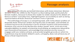 GRE4YOU.COM: TIPS ON GRE VERBAL REASONING- READING COMPREHENSION