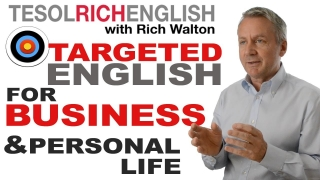 Learn English and Business English with Rich Walton