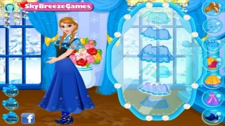 Anna and Kristoff Date Night Dress Up - Disney Full Game English Episode