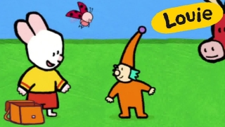 Cartoon for kids - Louie draw me an elf  HD