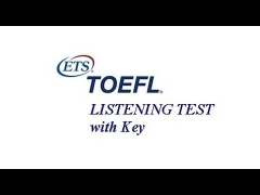 TOEFL Listening Full Practice Test 1.1, Learn English