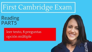 FCE Exam: READING - Part 1 Guided Practice