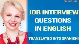 Job Interview Questions for a JOB INTERVIEW in English Preguntas  Entrevista de Trabajo en Inglés