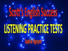 Scott's English Success-Advanced IELTS - Listening - Full -Test 3
