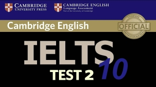 Cambridge IELTS 10 Listening Test 2