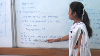 BP BScAGRI EM TRIGONOMETRY Standard and Allied Angle | Rai University Video Lectures