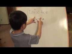 Math whiz kid derives calculus formulas, Reduction Formula of tan^n(x) table