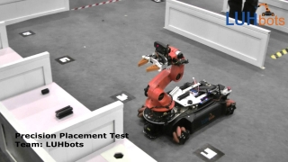 RoboCup 2015 - RoboCup@work - Precision Placement Test - LUHbots