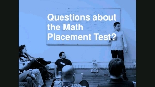 Placement Exam Webinar