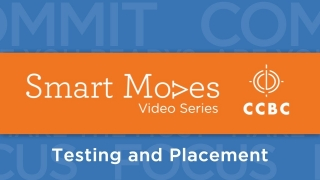 Smart Moves: Testing and Placement (2014)