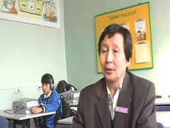 review of Davaanyam teacher of the visually impaired children 116 secondary school  part1.avi