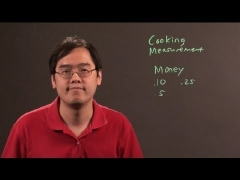 How to Use Model Fractions & Decimals : Math & Calculus Tips