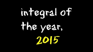 integral of the year, 2015 | Math & Music -- Calculus