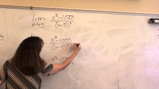 Price AP Calculus AB, 1-5  Limits that approach infinity