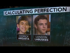 Meet 2 students who earned perfect score on AP calculus exam
