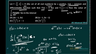 IIT JEE main maths video lectures solutions differential calculus